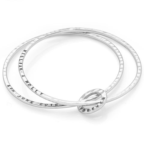 stackable rose fullxfull p il sbwd bangle gold bangles cuff bracelet silver thin hammered stacking set