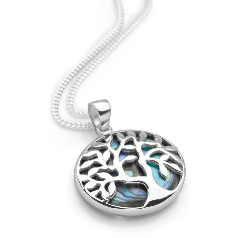 Tree Of Life Pendant Silver Pendants Silver By Mail