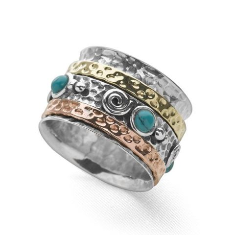 Tazanna Turquoise Ring