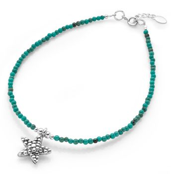 Blue Lagoon Anklet