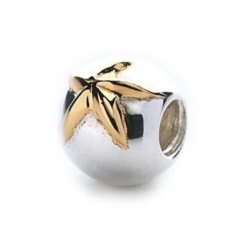 Golden Starfish Bead