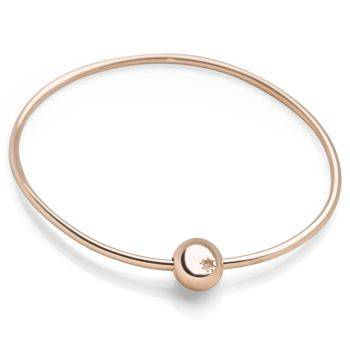 Pebble Blush Bangle