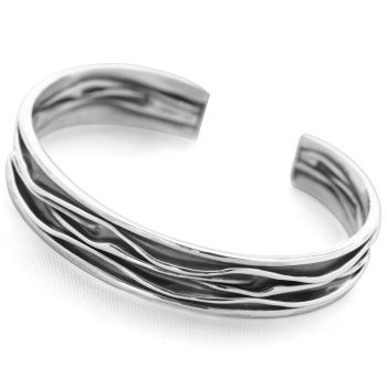 Midnight Wave Bangle