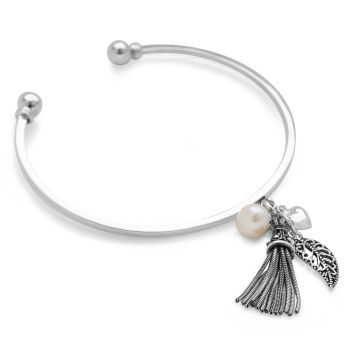 Lovers Charm Bangle