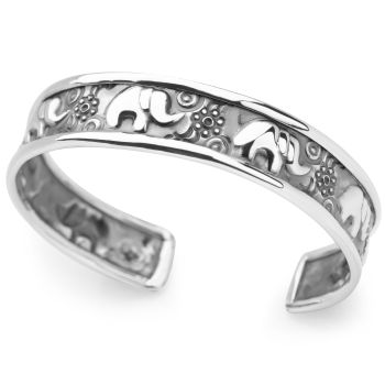 Lucky Elephant Bangle