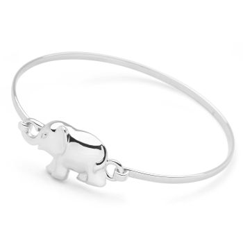 White Elephant Bangle