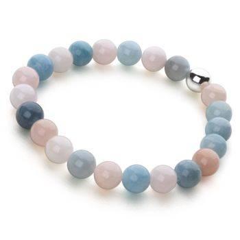 Lucky Beads Bracelet (Beryl)