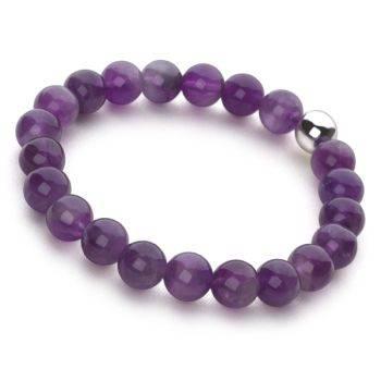 Lucky Beads Bracelet (Amethyst)