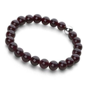 Lucky Beads Bracelet (Garnet)