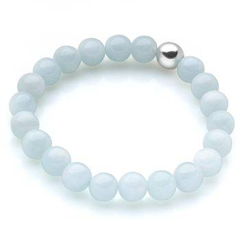 Lucky Beads Bracelet (Aquamarine)