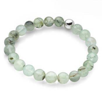 Lucky Beads Bracelet (Prehnite)