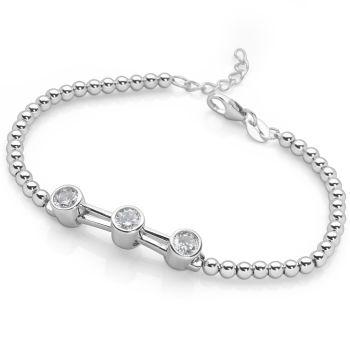 Silver Dawn Bracelet