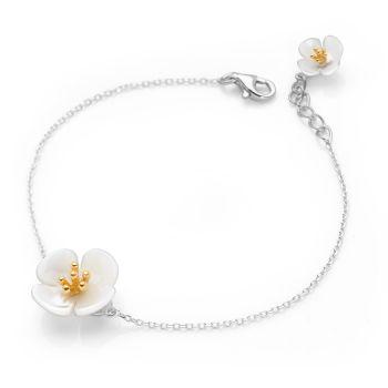 Sweet Petunia Bracelet