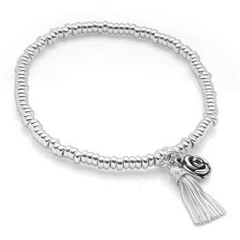 Rose Halo Bracelet