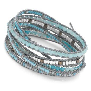Ocean Azure Wrap Bracelet