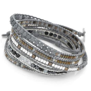 Midnight Wrap Bracelet