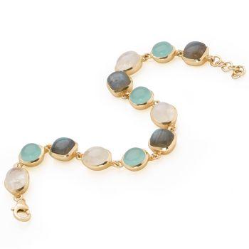 Aqua City Bracelet (Gold Plate)