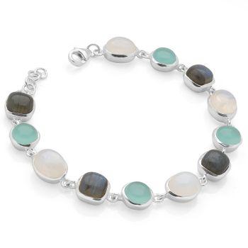 Aqua City Bracelet (Silver)
