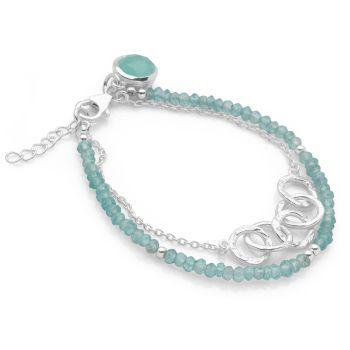 Olympian Moon Bracelet