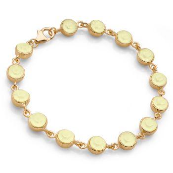 Swarovski Lemon Bracelet