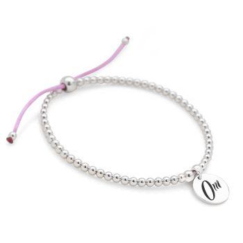 Om Bracelet (Purple)