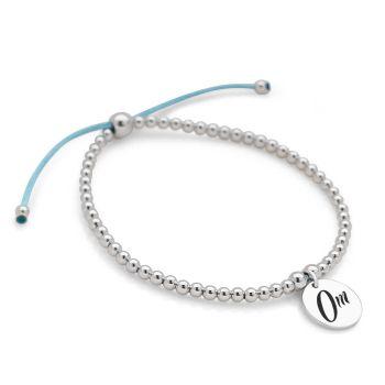 Om Bracelet (Blue)