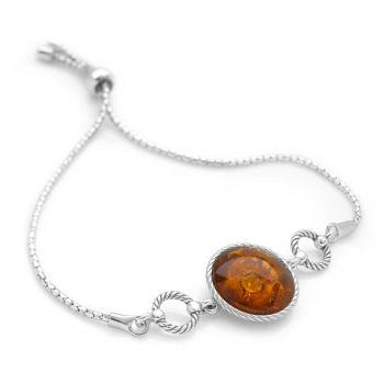 Amber Pool Bracelet