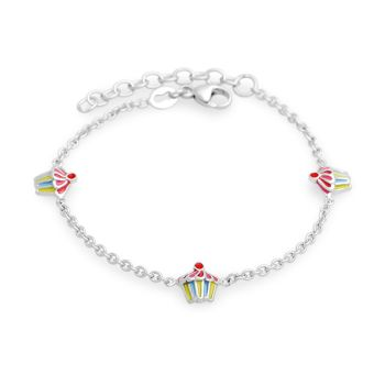 Mini Cupcake Children's Bracelet