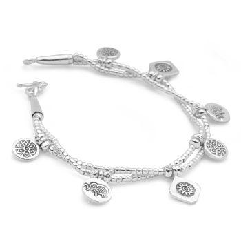 Mantra Charm Bracelet