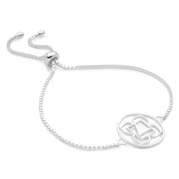 Silver Root Chakra Bracelet