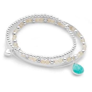 Aqua Sea Bracelet Set