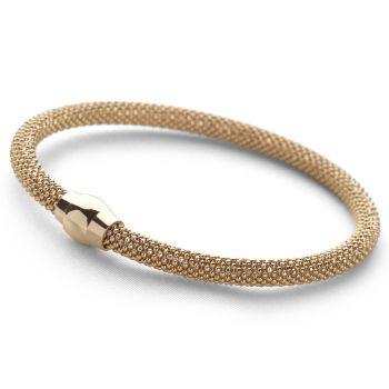 Popcorn Bracelet (Gold Plate)