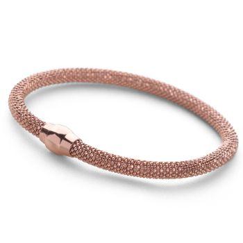 Popcorn Bracelet (Rose Gold Plate)