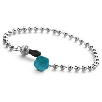 Blue Aloha Bracelet