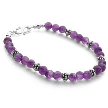 Amethyst Symphony Bracelet