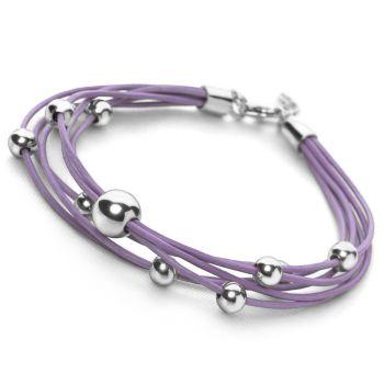 Lilac Abacus Bracelet