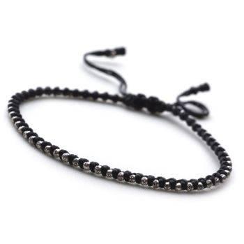 Beaded Noir Bracelet