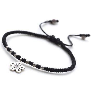 Floral Noir Bracelet
