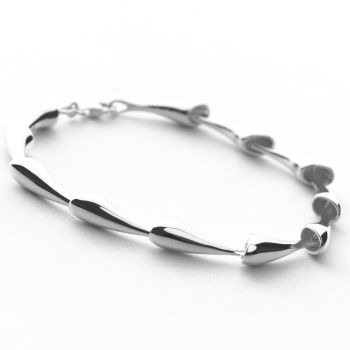 Silver Stream Bracelet