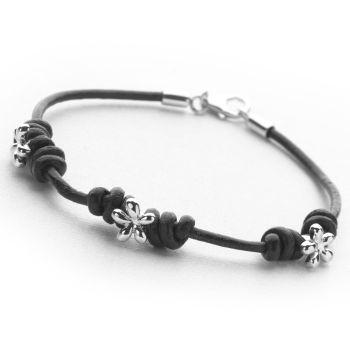 Black Blossom Bracelet