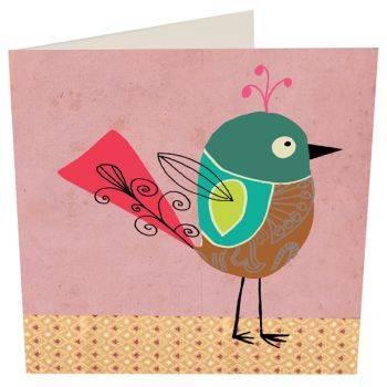 Birdie Card (Blank)