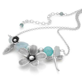 Aqua Fleur Chain