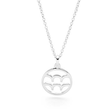 Aquarius Astrology Pendant