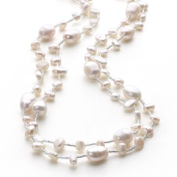 Pearl Bounty Chain (White)