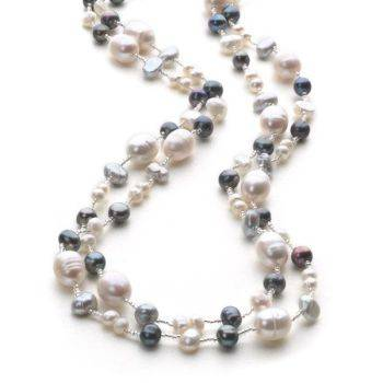 Pearl Bounty Chain (Grey)