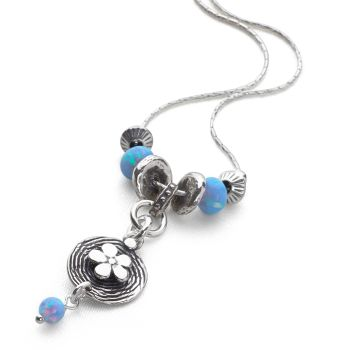 Blue Blossom Chain