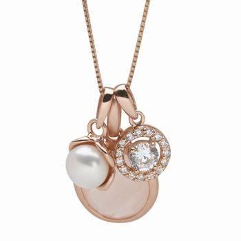 Rosé Aurora Necklace