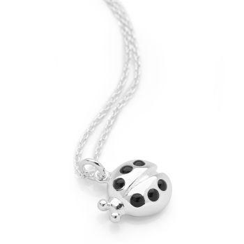 Silver Ladybird Chain