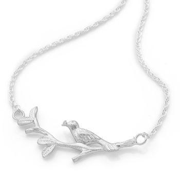 Silver Songbird Chain
