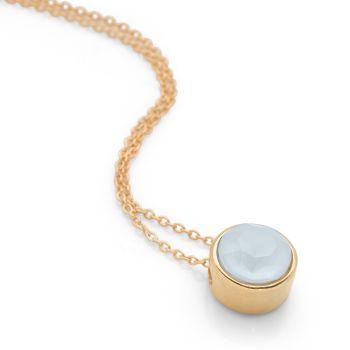 Swarovski Aqua Necklace